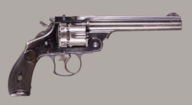 SMITH & WESSON 44 DOUBLE ACTION FRONTIER MODEL 1881 REVOLVER