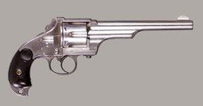 MERWIN & HULBERT LARGE FRAME D/A THIRD MODEL 1883 ARMY REVOLVER